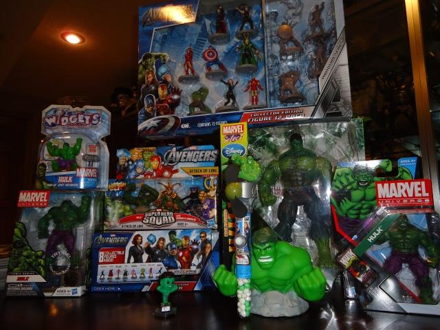 Christmas 2012 Hulk haul