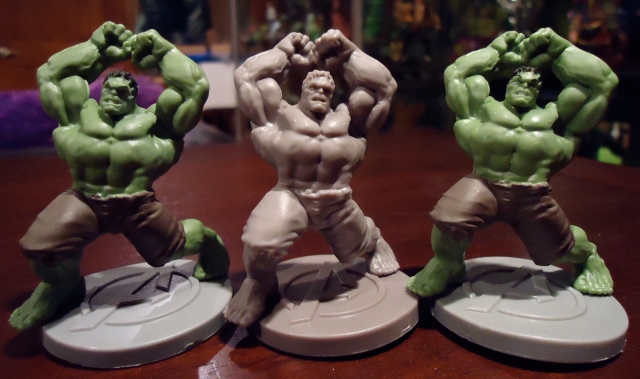 Hulk mini figures