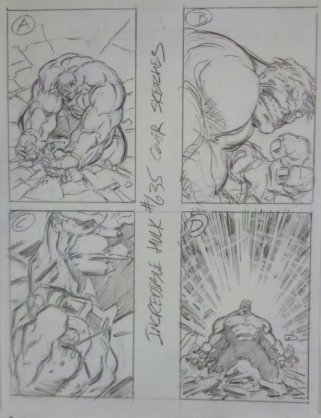 Paul P cover sketches
