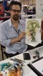 Tom Fowler Hulk at Heroes con 2013