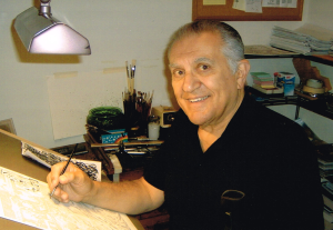Sal-Buscema at the board
