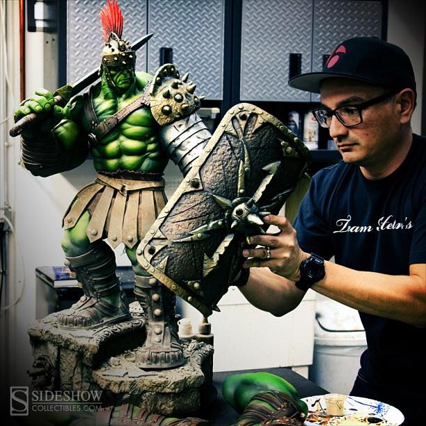 Sideshow planet Hulk