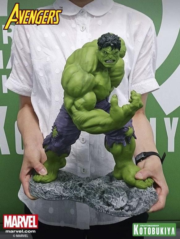 new koto hulk statue