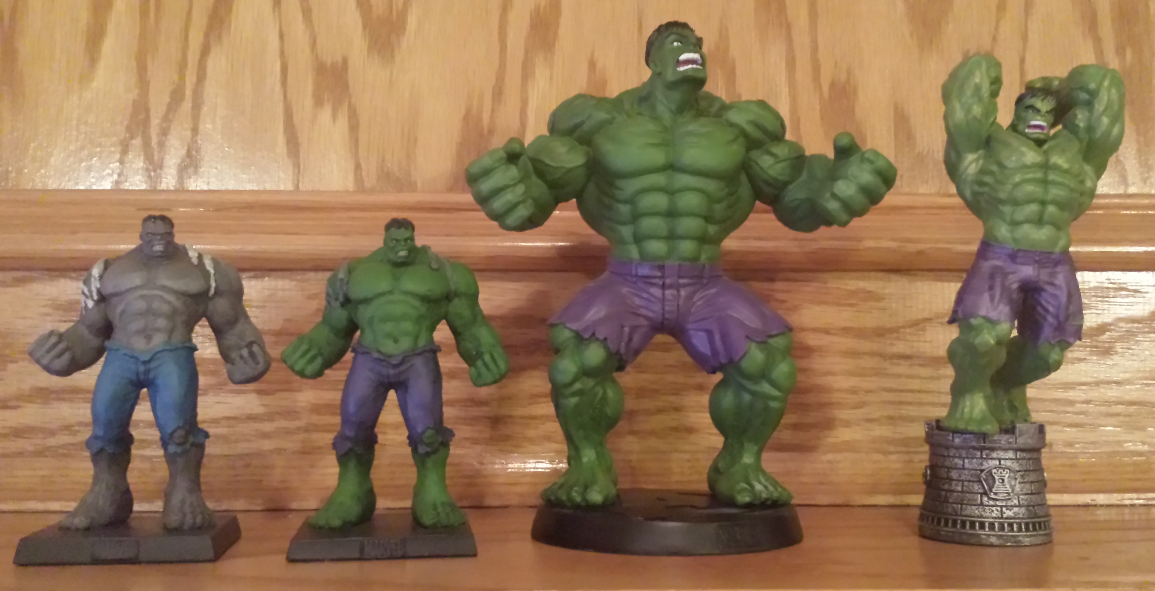 New EAGLEMOSS Hulk statue/figure from the Marvel Fact ...