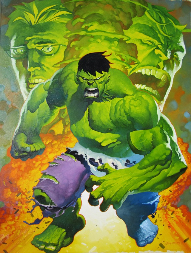 Hulk transforms final photo 1