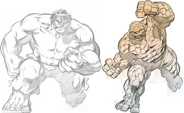 Pelletier Hulk vs Thing