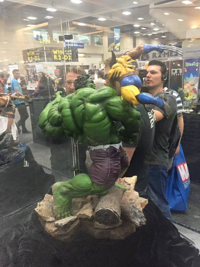 hulk vs wolvie SS dio