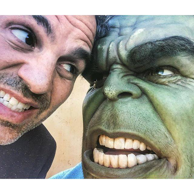 Hulk and Ruffalo