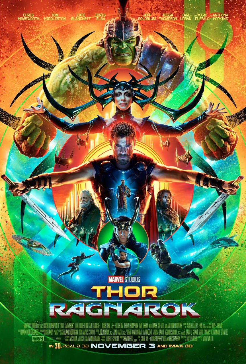 Thor: Ragnarok poster revealed and it is a thing of beauty ...