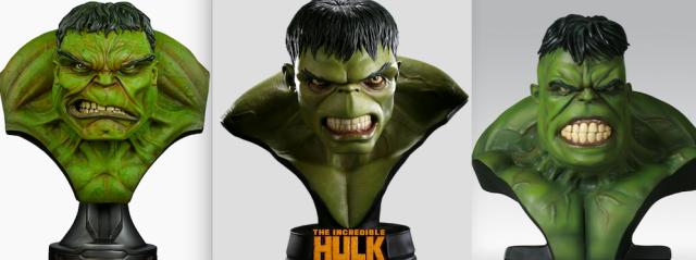 SS Hulk busts