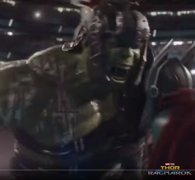 hulk v thor ragnarok