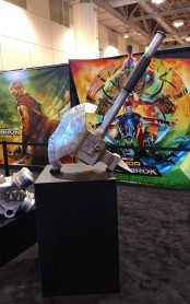 Thor Ragnarok movie prop Hulk axe