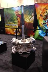 Thor Ragnarok movie prop Hulk hammer