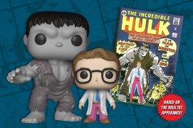 Hulk Funko collector corps box