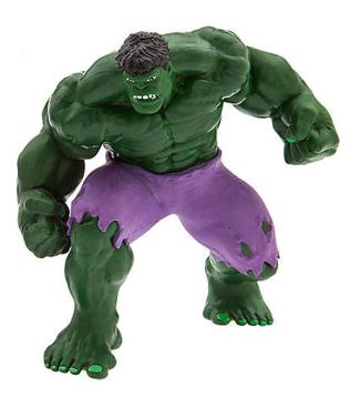 Disney Hulk mini figure