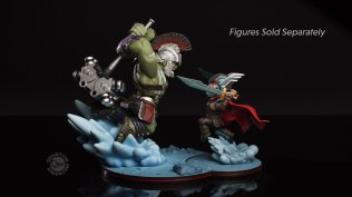 QM Hulk vs Thor Ragnarok mini dio2