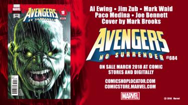 Hulk coming back in Avengers
