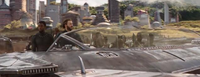 infinity war Cap panther